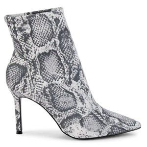 Charles David NEW stretch ankle boot snake print